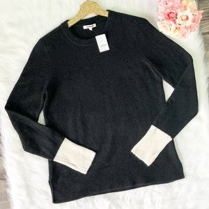 Madewell Colorblock Sweater Fremont Pullover
